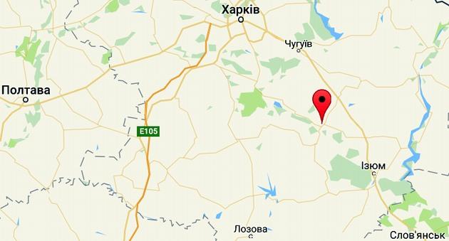 Под Харьковом пожар на складе боеприпасов, взрываются снаряды