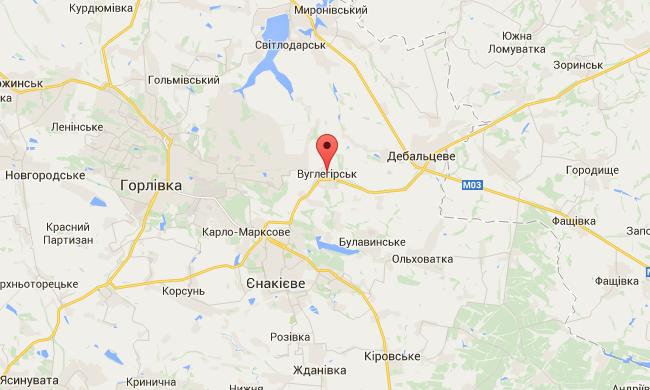 В милиции Донетчины сообщают об ожесточенных боях за Углегорск