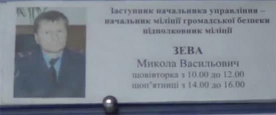 """Стало известно, кто командовал """"Беркутом"""" под Святошинским РОВД"""