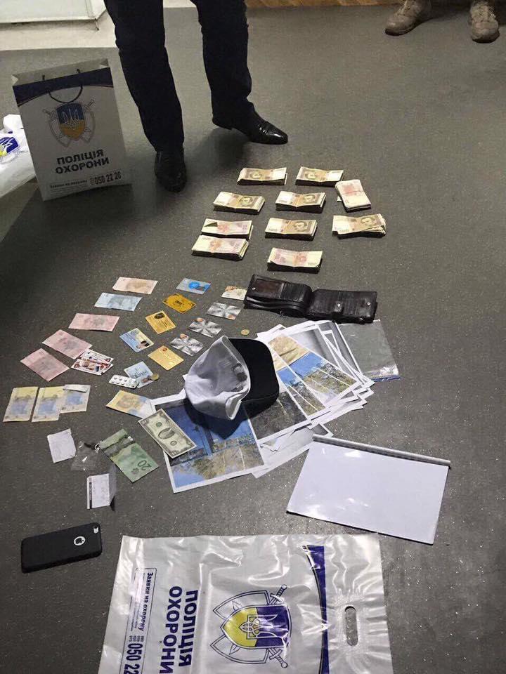 Начальник полиции охраны Будник задержан по подозрению во взятке