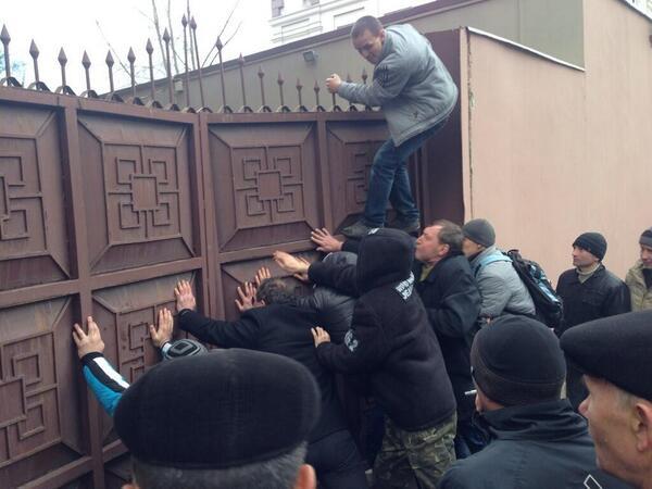 В Донецке сепаратисты захватили офис компании губернатора Таруты
