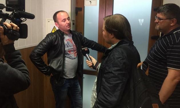 Співробітники НАБУ проводять обшук вОкружному адмінсуді Києва