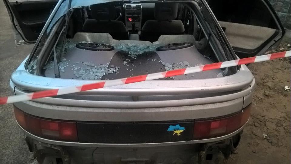 Под Киевом полиция стреляла по колесам авто нарушителя: 1 раненый