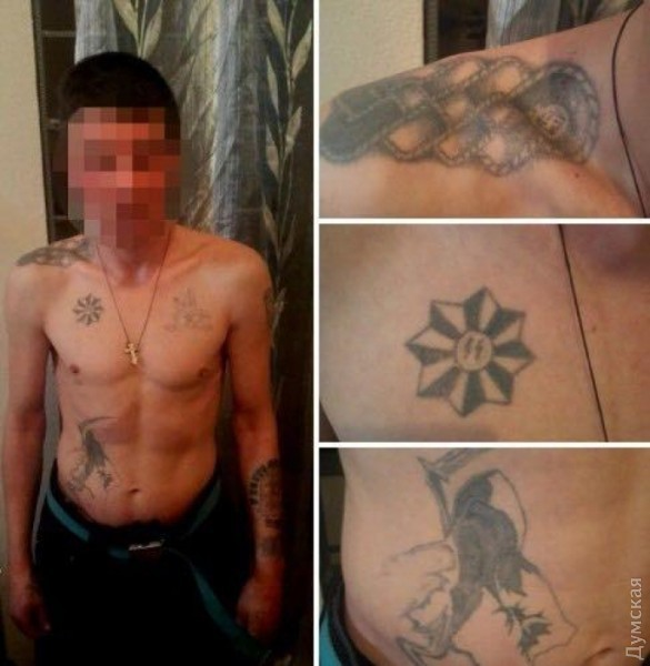ВОдессе задержали иностранца, зарубившего 2 человек вновогоднюю ночь