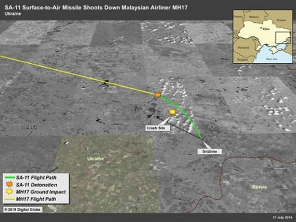 Разведка США: Россия создала условия для катастрофы Boeing 777