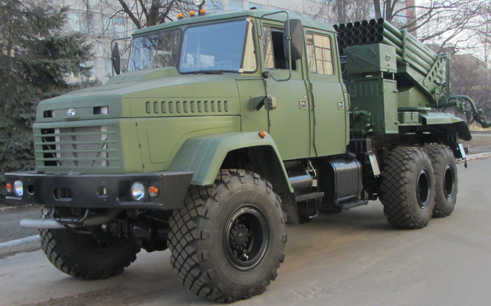 Мощнее Града: в Украине представлена новая РСЗО Верба