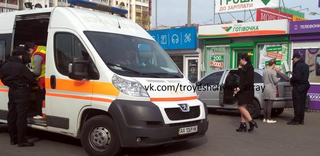 Автомобиль с Савченко сбил на Троещине пожилую женщину - фото