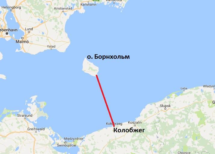 Поляк первым вистории переплыл Балтийское море