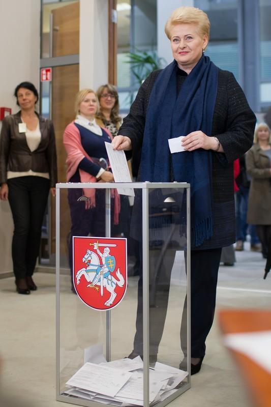 В Литве проходит первый тур парламентских выборов: фото