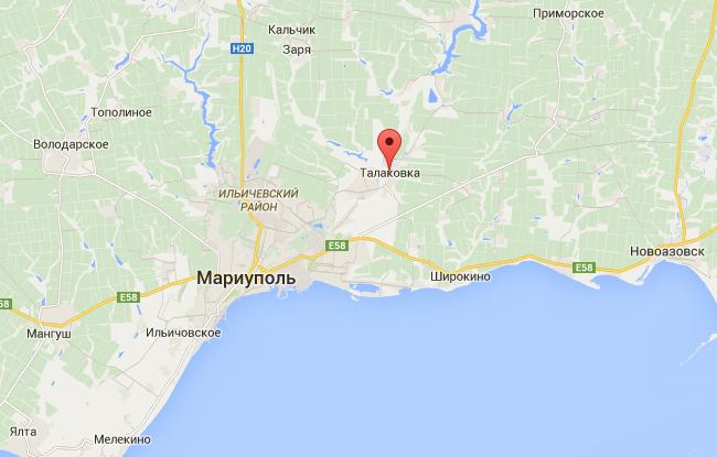 При обстреле пригорода Мариуполя повреждены дома, есть раненые