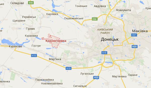 Под Донецком боевики возобновили минометные обстрелы жилых домов