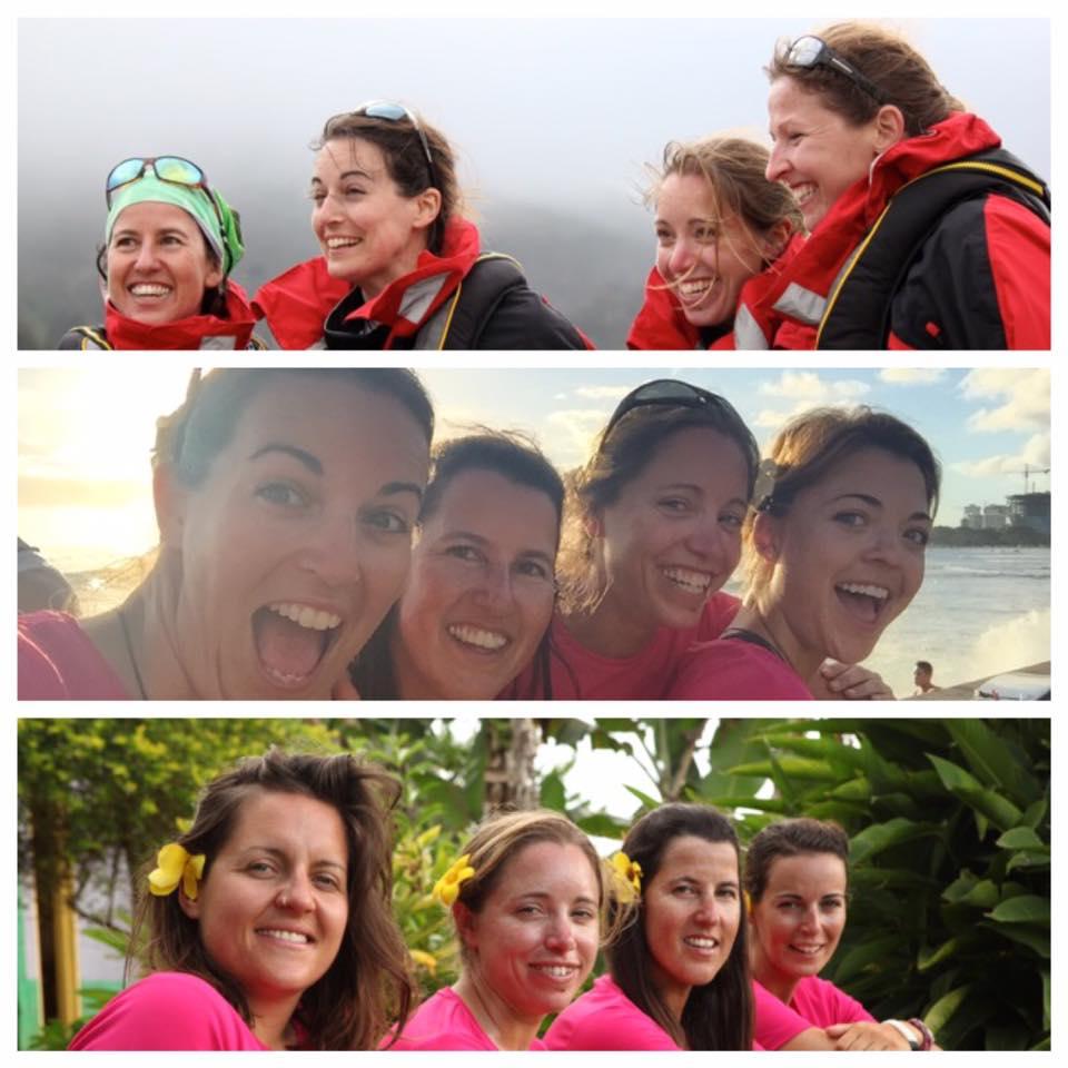 Четыре британки на веслах переплыли Тихий океан за 252 дня: видео