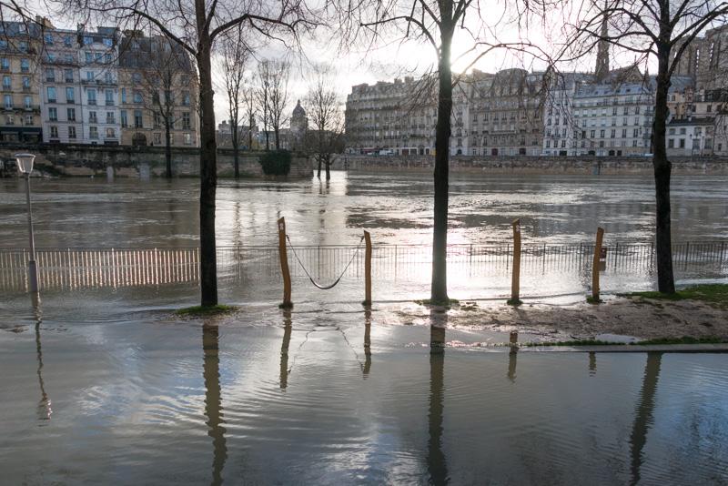 Из-за дождей Сена и Рейн вышли из берегов: фото