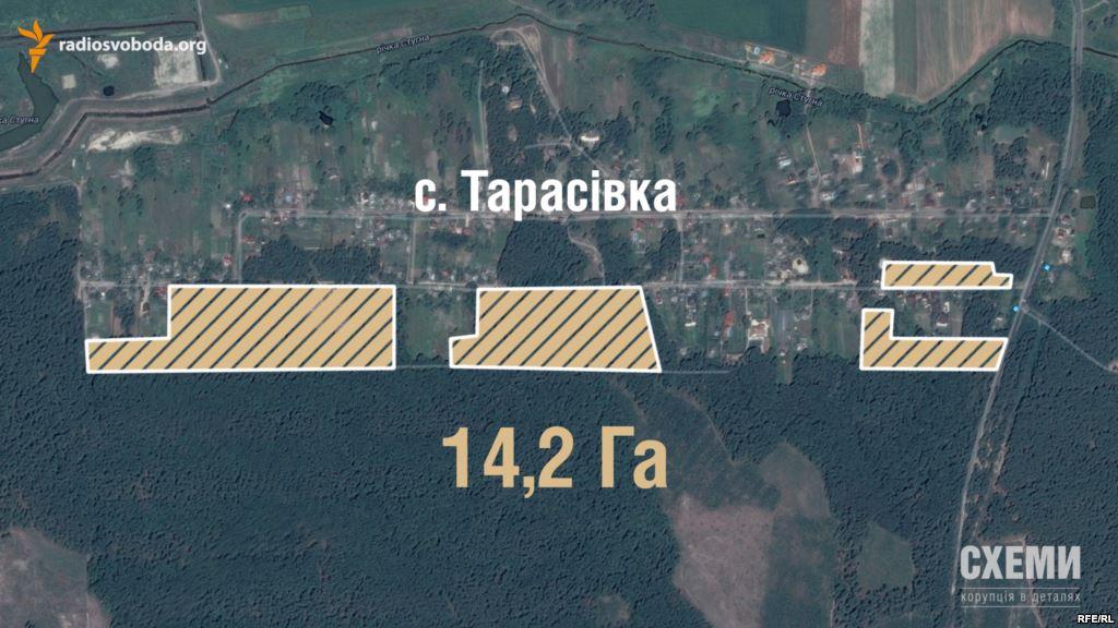 Судьи Высшего админсуда пытались присвоить землю под Киевом