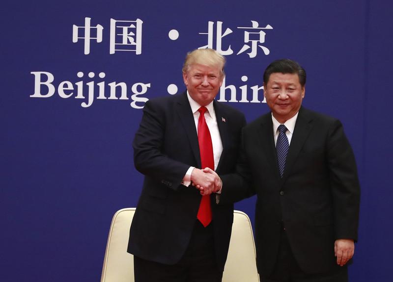 Дональд Трамп и Си Цзиньпин (Фото EPA)