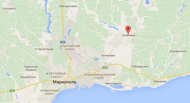 Силы АТО отбили атаку под Мариуполем, боевики понесли потери