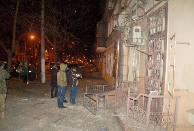 """В Одессе прогремел взрыв возле офиса лидера """"Автомайдана"""""""