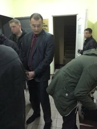 В Днепропетровске СБУ задержала прокурора: фото