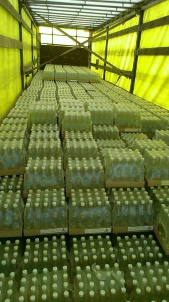 СБУ предотвратила контрабанду в АТО около 30 тыс бутылок водки