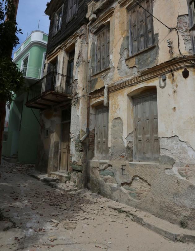 Лесбос принял удар подводного землетрясения