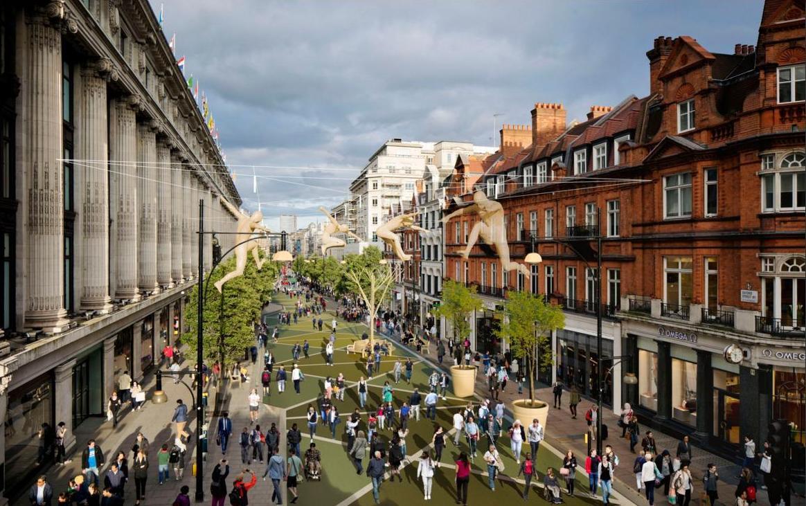 В Лондоне хотят запретить движение на оживленной торговой улице
