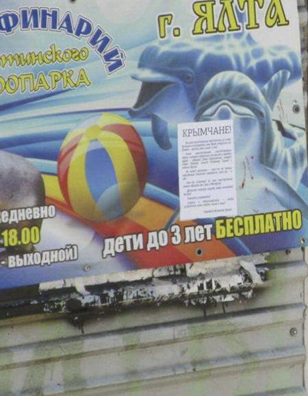 «Украинское подполье»: вКрыму расклеили листовки с опасностями офицерам-предателям