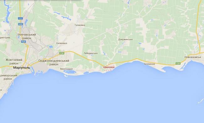 Боевики собирают силы в районе Новоазовска и Мариуполя - ИС
