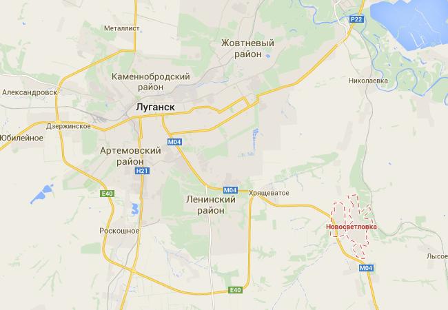 Десант и пехота блокируют восточную часть Луганска - спикер АТО