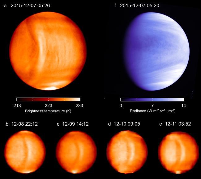 Ученые обнаружили огромную белоснежную волну наВенере