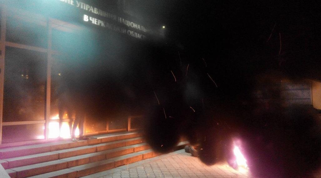 «Азов» провел захват городского отделения милиции — Бойня вЧеркассах