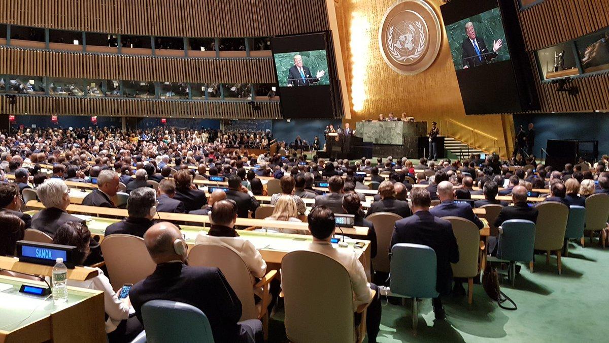Трамп: Суверенитет Украины необходимо отстоять