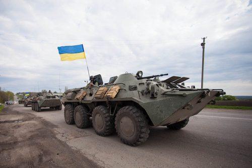 Украинские силовики разблокировали три блокпоста в Славянске