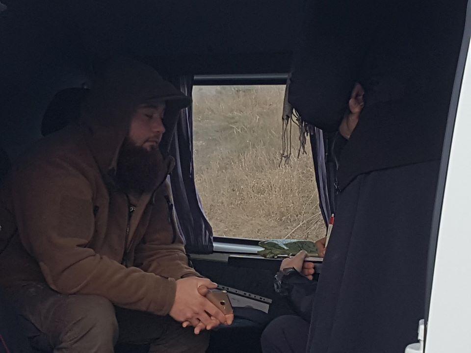 В Симферополе задержали активиста Крымской солидарности: фото