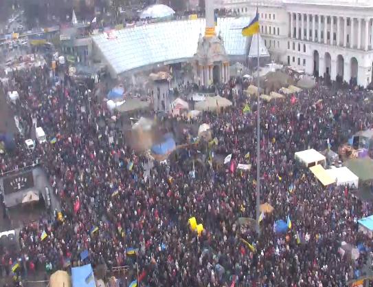 Евромайдан, день 53-й: хроника