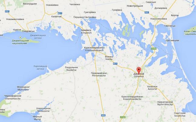 Военные РФ оборудуют позиции в районе Джанкоя и на севере Крыма