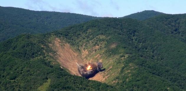 Авиация Южной Кореи отработала бомбардировку ставки Ким Чен Ына
