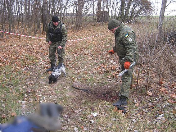 ВЧерниговской области Украины мужчина взорвал себя гранатой
