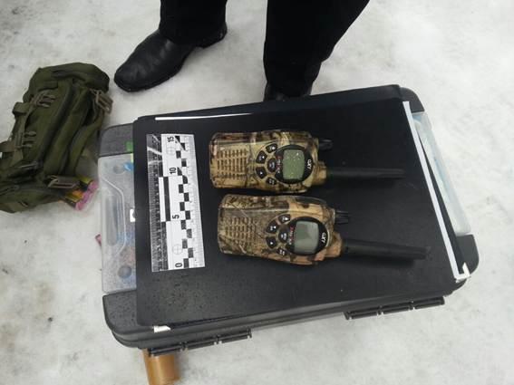 В центре Киева полиция изъяла у парня петарды и взрывпакет: фото