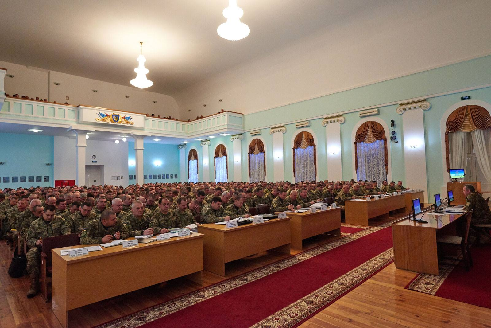 Муженко назвав головне завдання Збройних Сил України