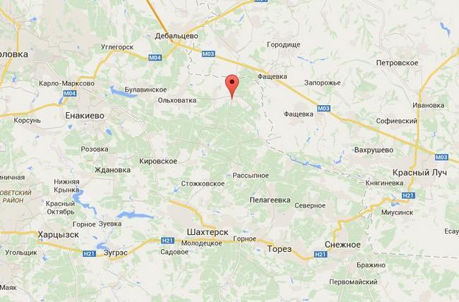 Боевики отступили в районе Никишино - Тымчук