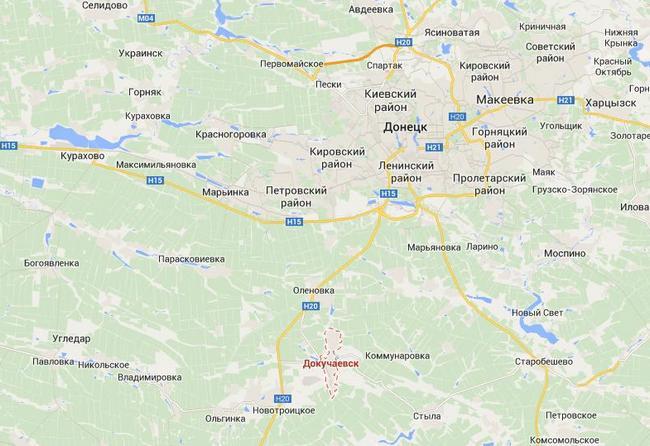 Войска РФ концентрируются в районе Новоазовска и Докучаевска - ИС