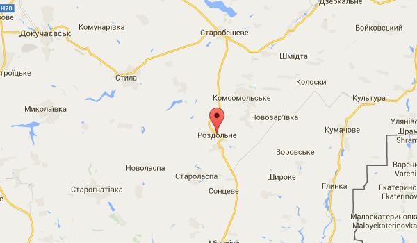 Боевики замаскировали 60 единиц бронетехники в районе Раздольного
