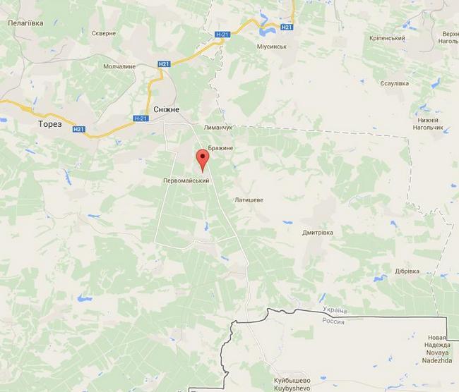 В селе Победа развернут штаб тактической группы ВС РФ - СНБО