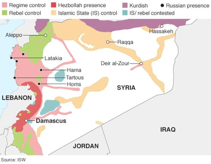 В Минобороны РФ подтвердили авиаудары по Сирии