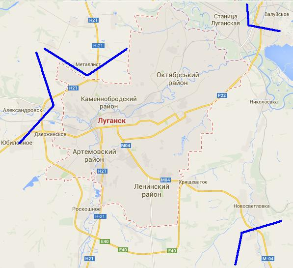 Третий день АТО: армия у Луганска, боевики бегут, Гиркин паникует