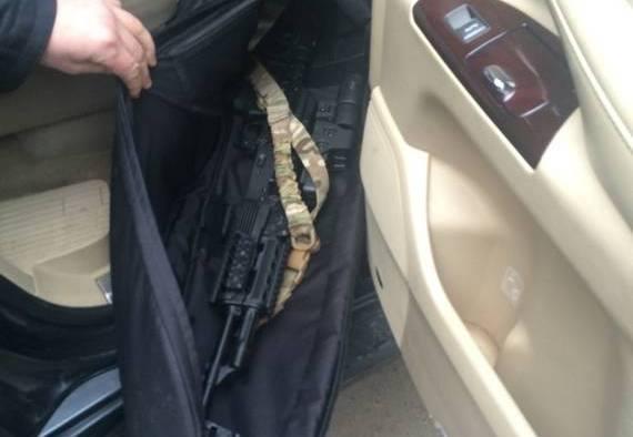 СБУ задержала вооруженных сепаратистов в Одессе