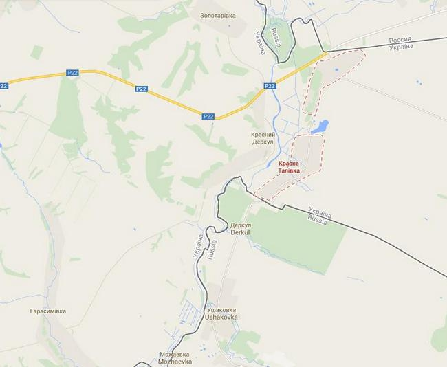 Российские танки и БТРы совершили провокацию на границе