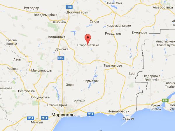 Боевики накрыли Градами позиции сил АТО в Старогнатовке