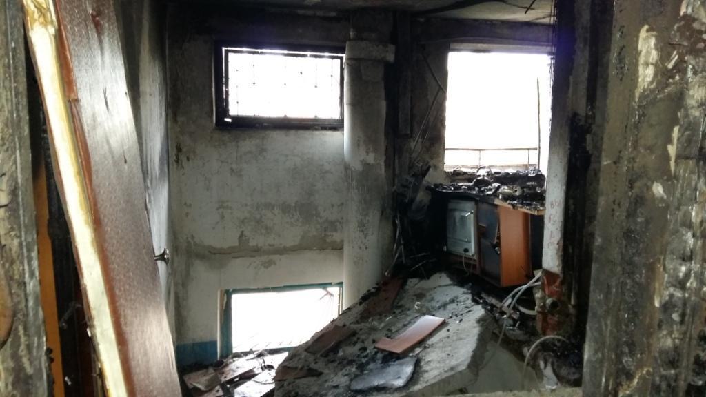 В итоге взрыва вПавлограде частично разрушена многоэтажка