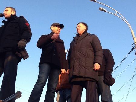 В Новые Петривцы приехали лидеры оппозиции